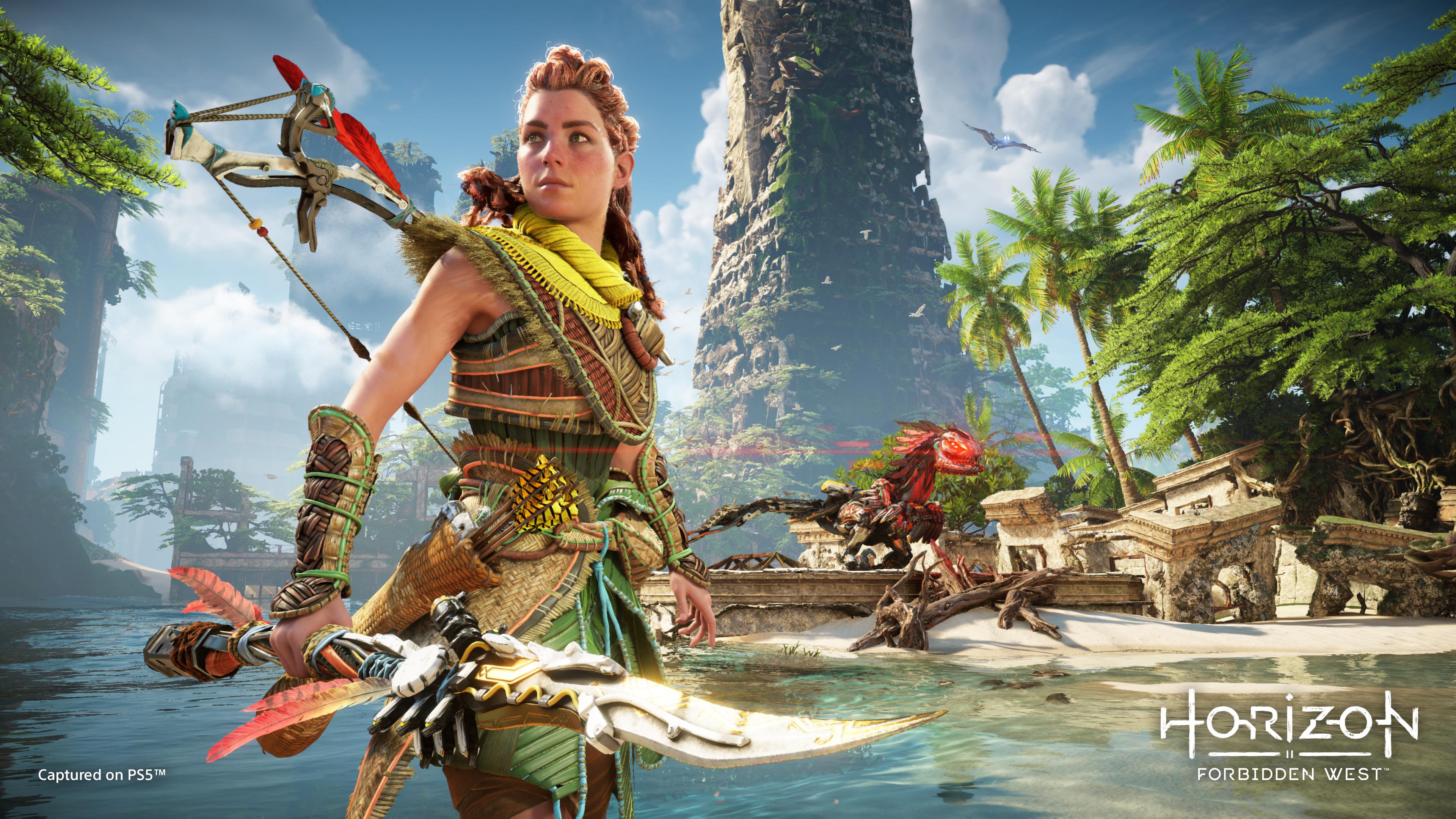 Характер Элой, модели персонажей и улучшения для PS5 - новые подробности Horizon Forbidden West 3