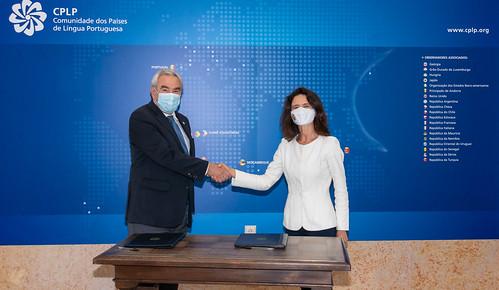 21.05. Assinatura do protocolo entre SECPLP e Ecosphere - Legis PALOP+TL