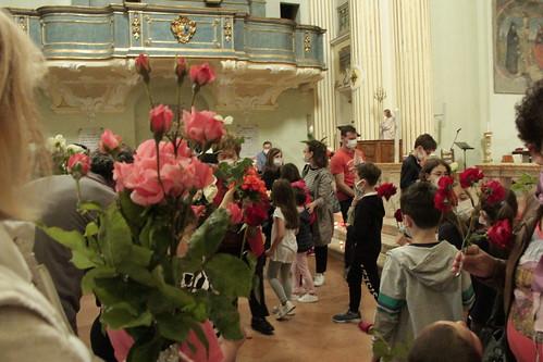 Benedizione delle rose per Santa Rita