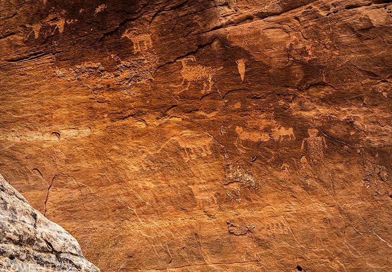 Missed Petroglyph Panel