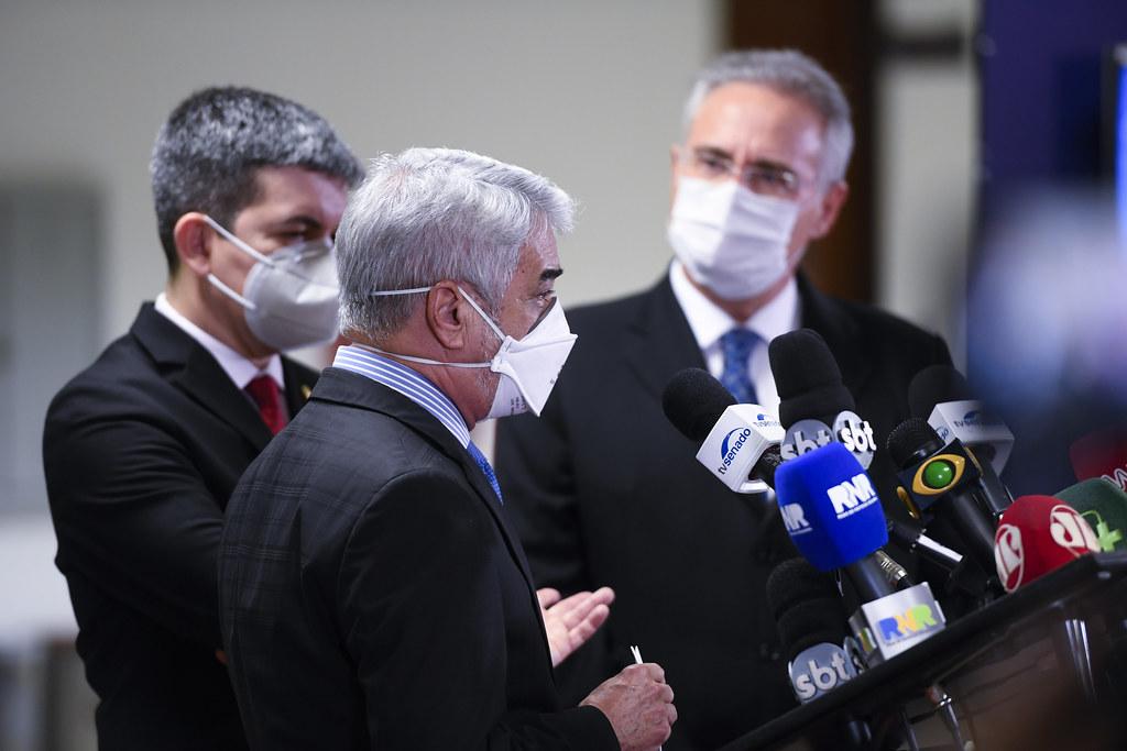 CPI da Pandemia - Coletiva de imprensa