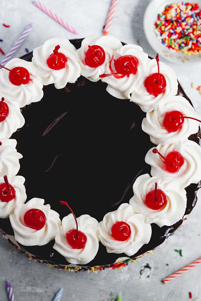 Brownie Hot Fudge Sundae Cake