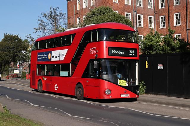 Route 293, London United, LT70, LTZ1070