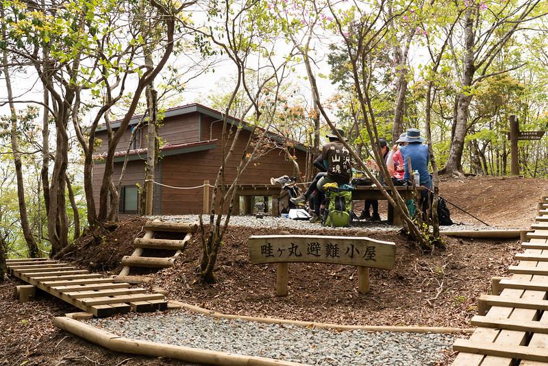 畦ヶ丸の避難小屋
