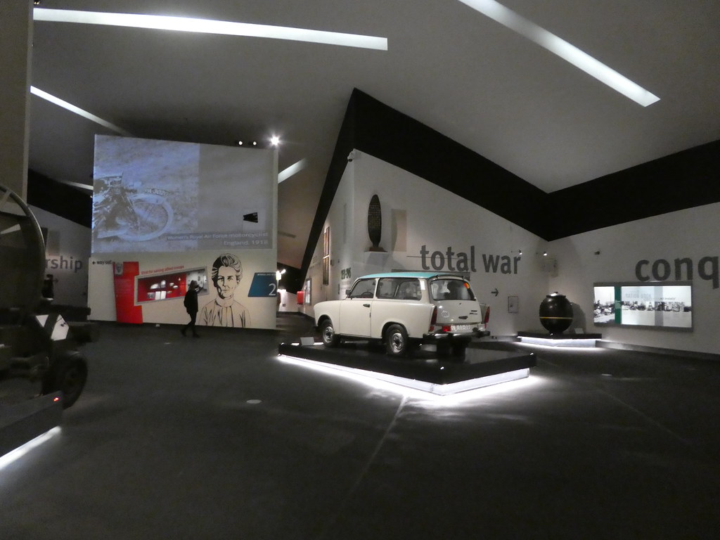 1957 East German Trabant in the IWMN
