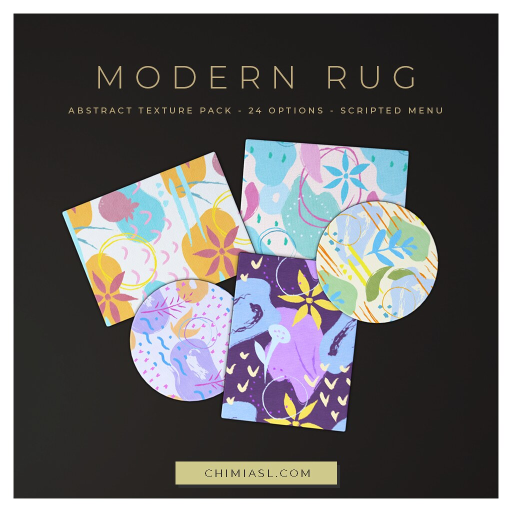 Modern Rugs for FLF by ChiMia