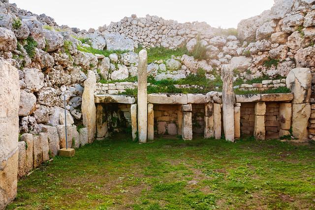 Temple mégalithique de Ggantija, Île de Gozo