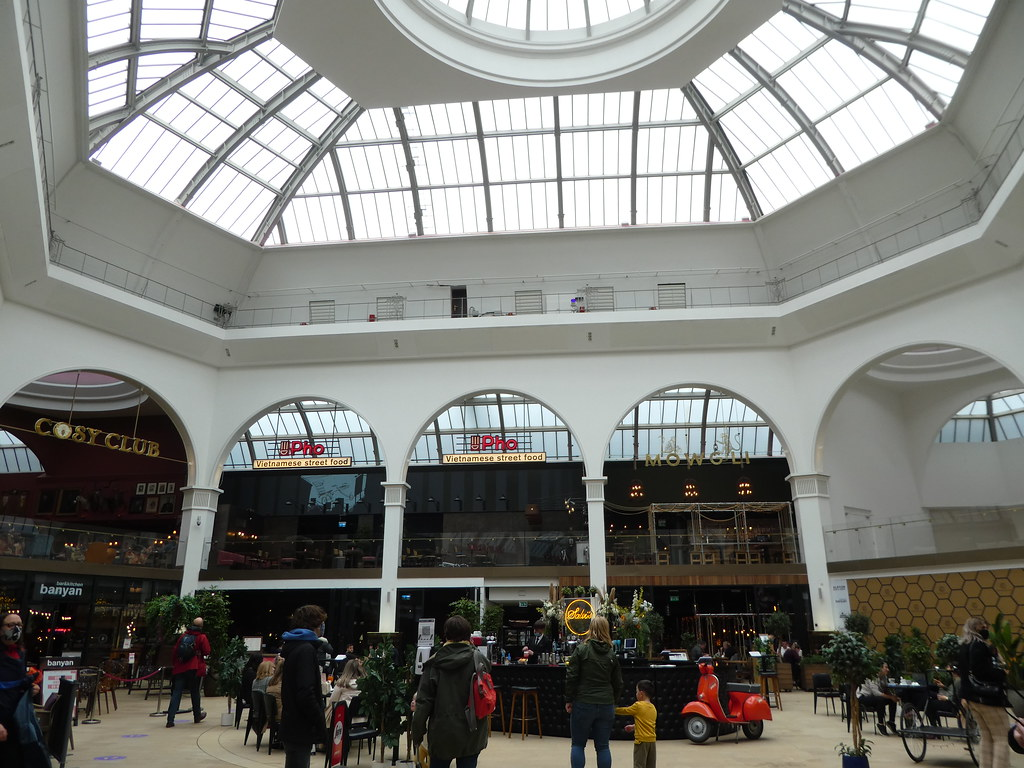 Interior of the Corn Exchange, Manchester