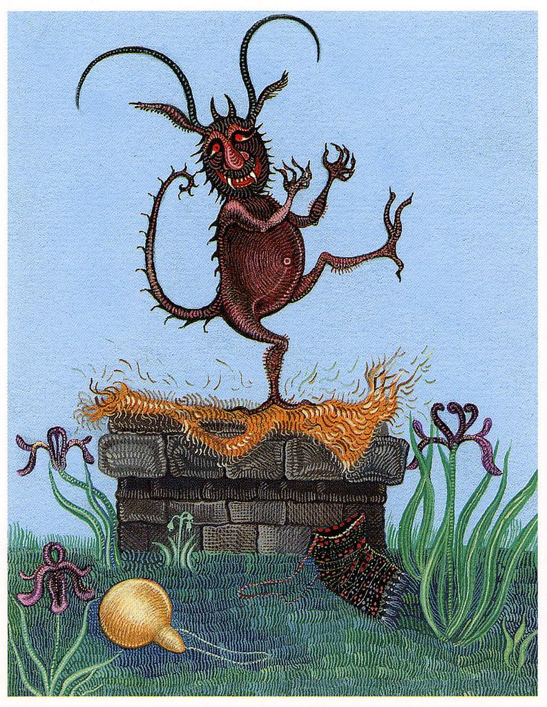 "Cvijeta Job - Illustration 01, from ""Potjeh"" by Ivana Brlic-Mazuranic, 1975"