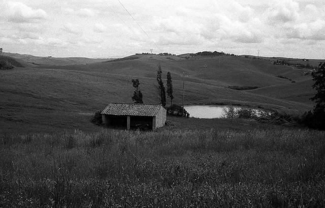 Campagna vicino a Volterra