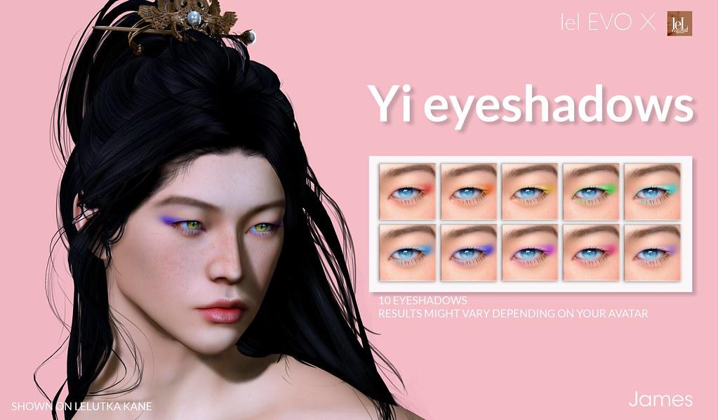 [James] Yi EyeShadows