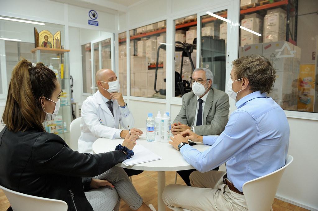 Visita öscar Izquierdo Presidente FEPECO