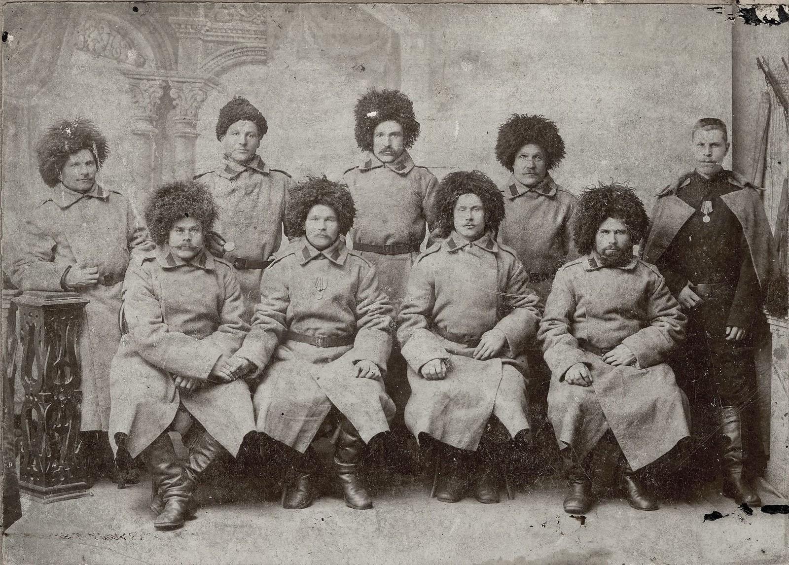1900-е. Казаки