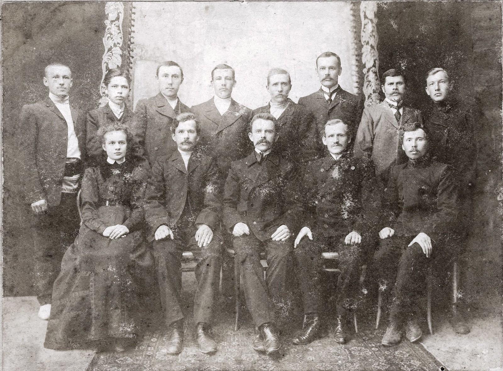 1900. Приказчики купца Маштакова