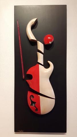 Sculpture violon
