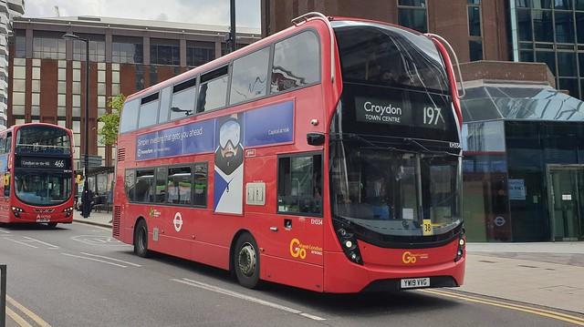 Go-Ahead London EH334 (YW19 VVG) East Croydon 28/5/21
