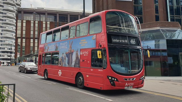 Arriva London DW274 (LJ59 LWX) East Croydon 28/5/21
