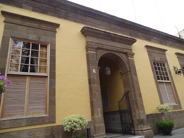 edificio Oficina de Información Turística de Gáldar plaza de Santiago Galdar Gran Canaria