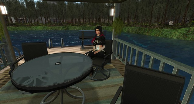 Relaxing at the lake