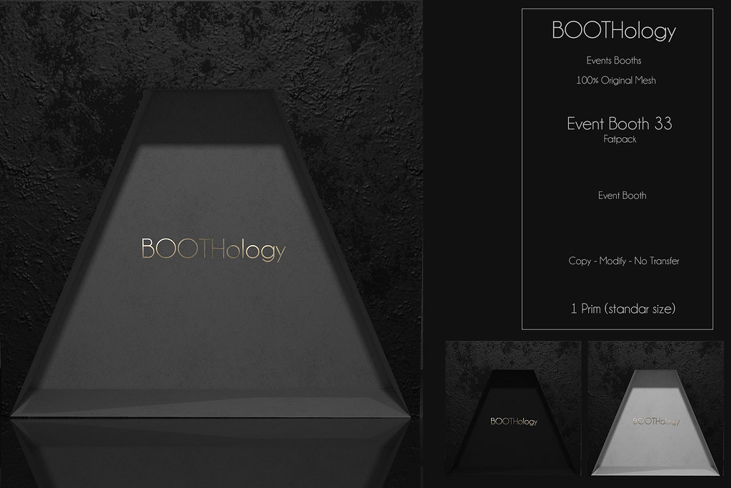 Bothology – Event Booth 33  AD – POSEvent