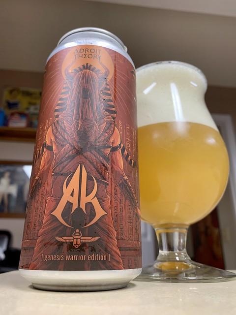 AK [Genesis Warrior Edition] Triple IPA (Ghost 1004) - Adroit Theory