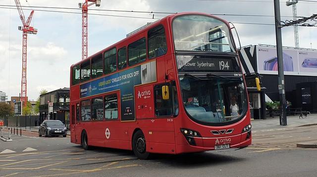 Arriva London DW261 (361 CLT) East Croydon 28/5/21