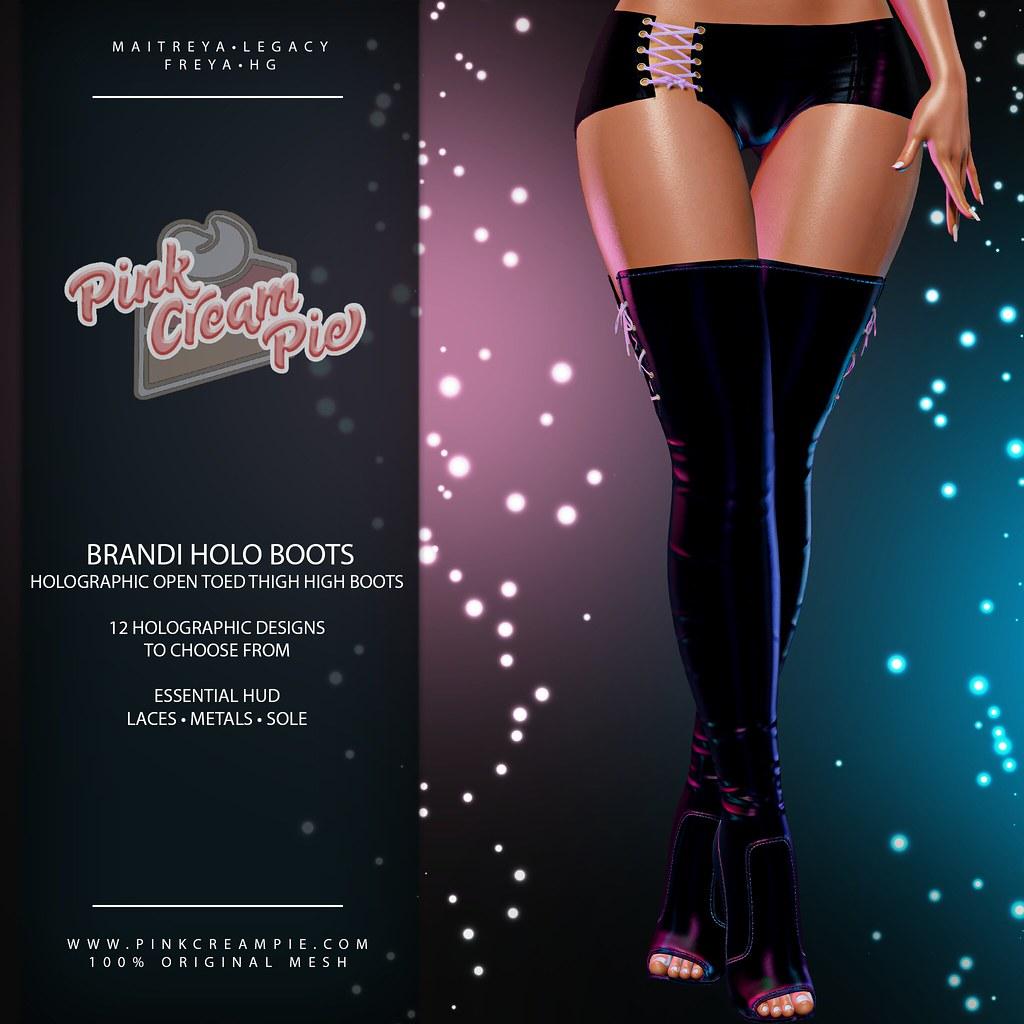 Brandi Holo Boots @ The Saturday Sale 5/29