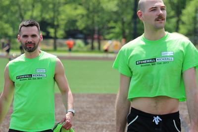 Stonewall Boston Kickball, May 23, 2021 - Week 3