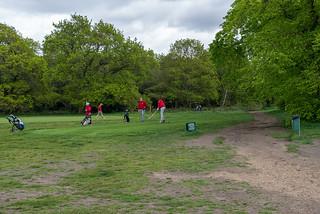YOGA + HIKING Richmond & Wimbledon Park-30