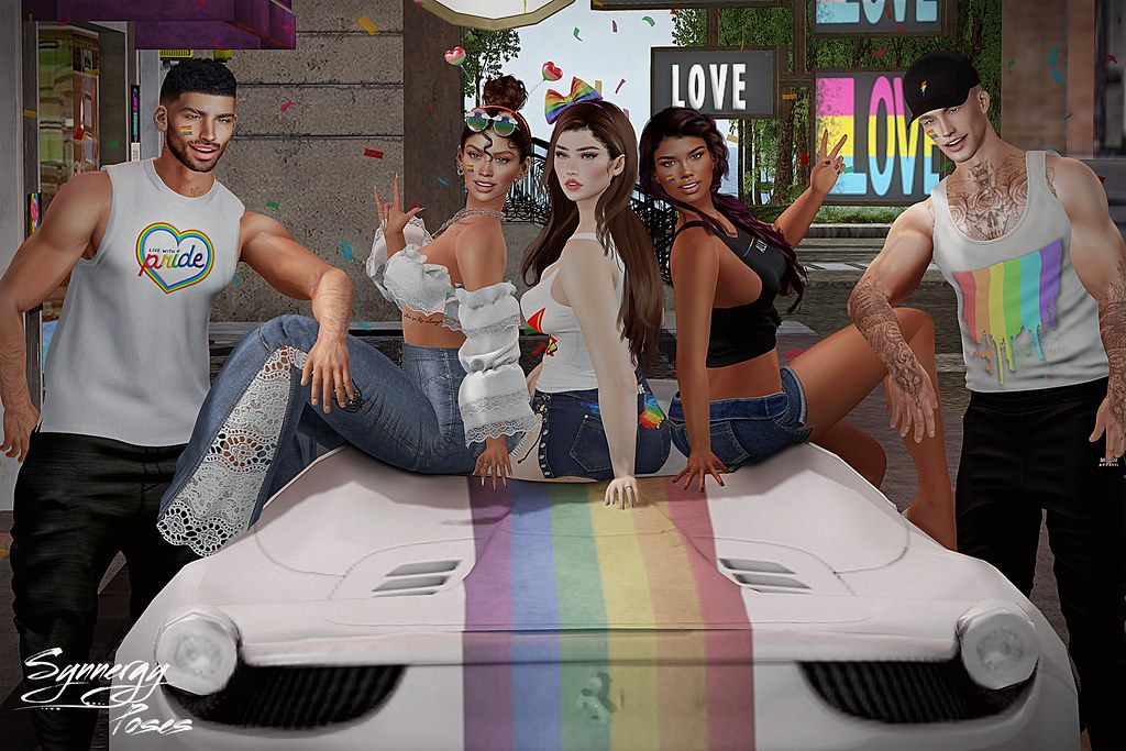 Pride Vibes @ Tres Chic Pop Up Event