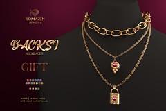 Romazin -Necklace <Backsi>, GIFT
