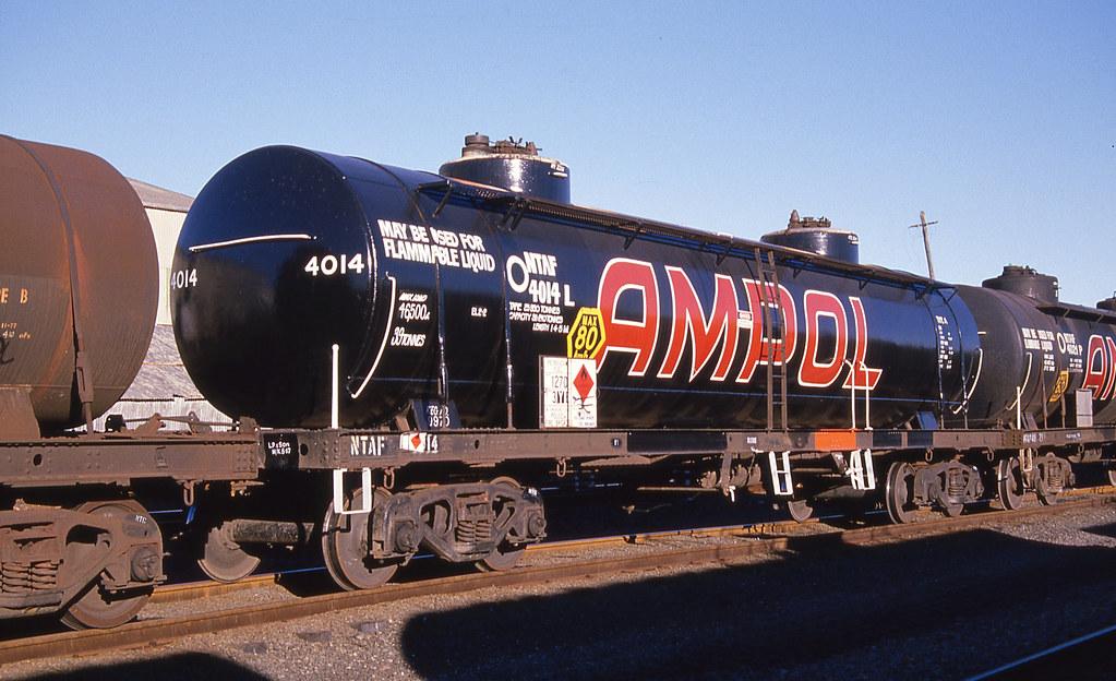 Ampol Petrol Tank Wagon, Botany, NSW.