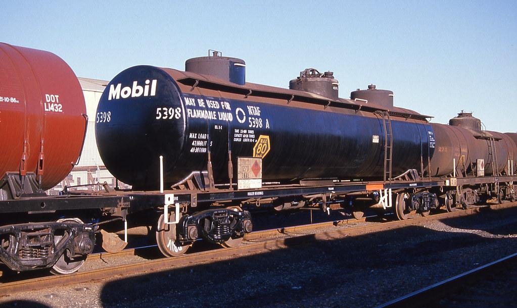 Mobil Petrol Tank Wagon, Botany, NSW.