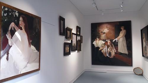 "Expoziția Elena Bria ""Pursuit of Beauty""."