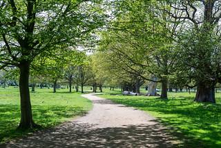 YOGA + HIKING Richmond & Wimbledon Park-172