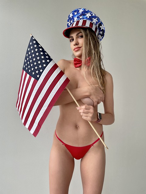 Stars and Stripes! oh, and lingerie too..!