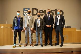 """28/05/2021 - Deusto ha celebrado la jornada """"Chequeo a la información en salud en la era digital y COVID'"""", en el marco del grado de MedicinaVID'"""", en el marco del grado de Medicina"""
