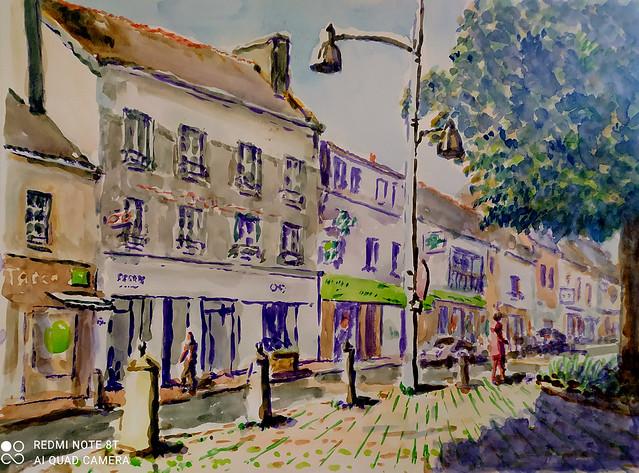 rue de Manéhouarn à Plouay