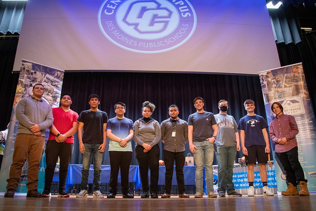 Central Campus Holds Skilled Trades Signing Ceremony