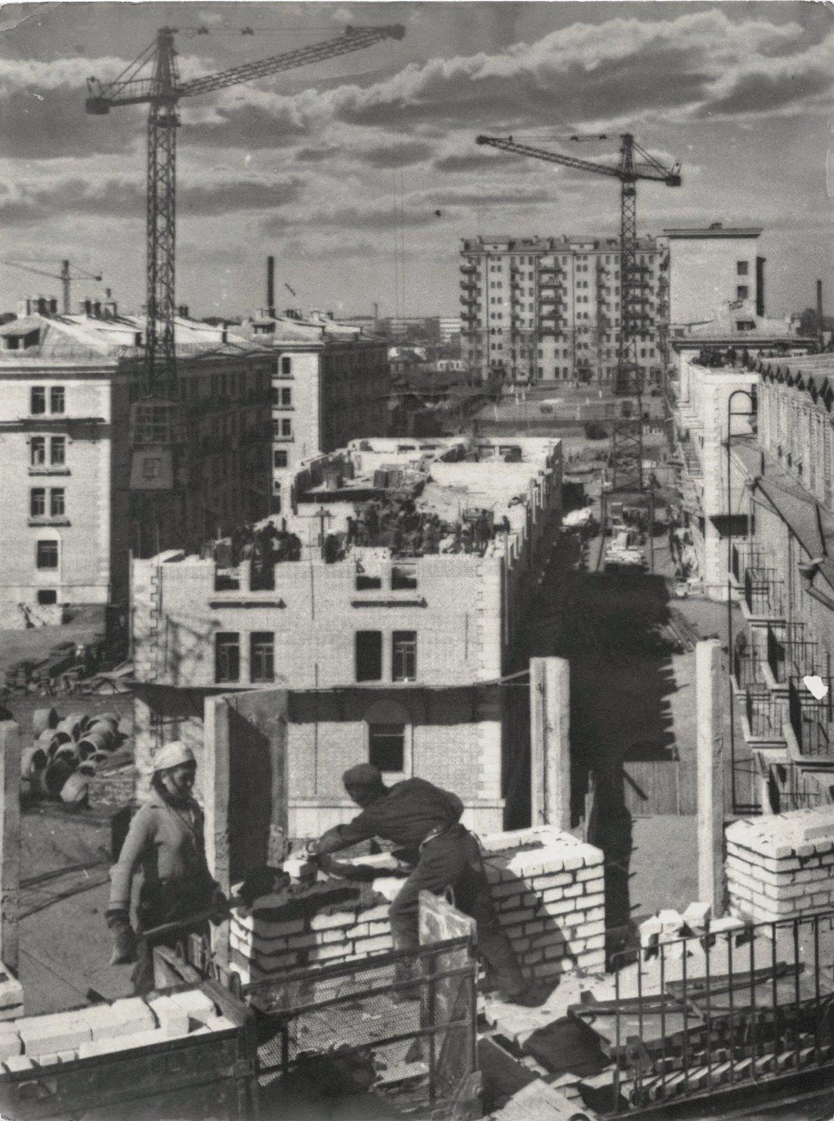 1949. Строительство Москвы