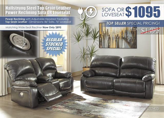 Hallstrung Steel Reclining Sofa OR Loveseat_U52403-47-18-OPEN_2021