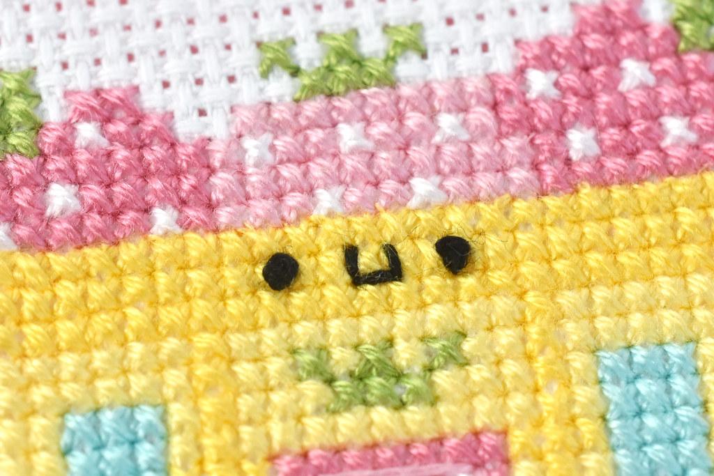 Sweet Strawberry House Cross Stitch