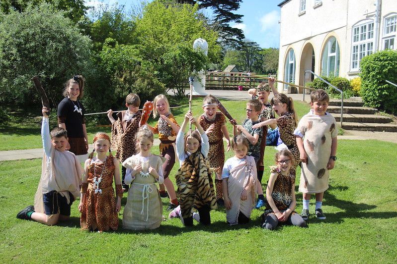 Year 3 & 4 'Wow Day | Stone Age
