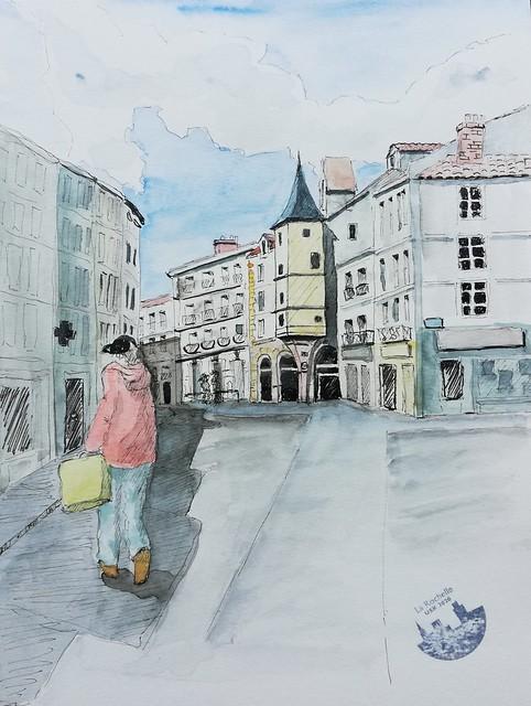 USK 2021 LA ROCHELLE  rue Saint Yon