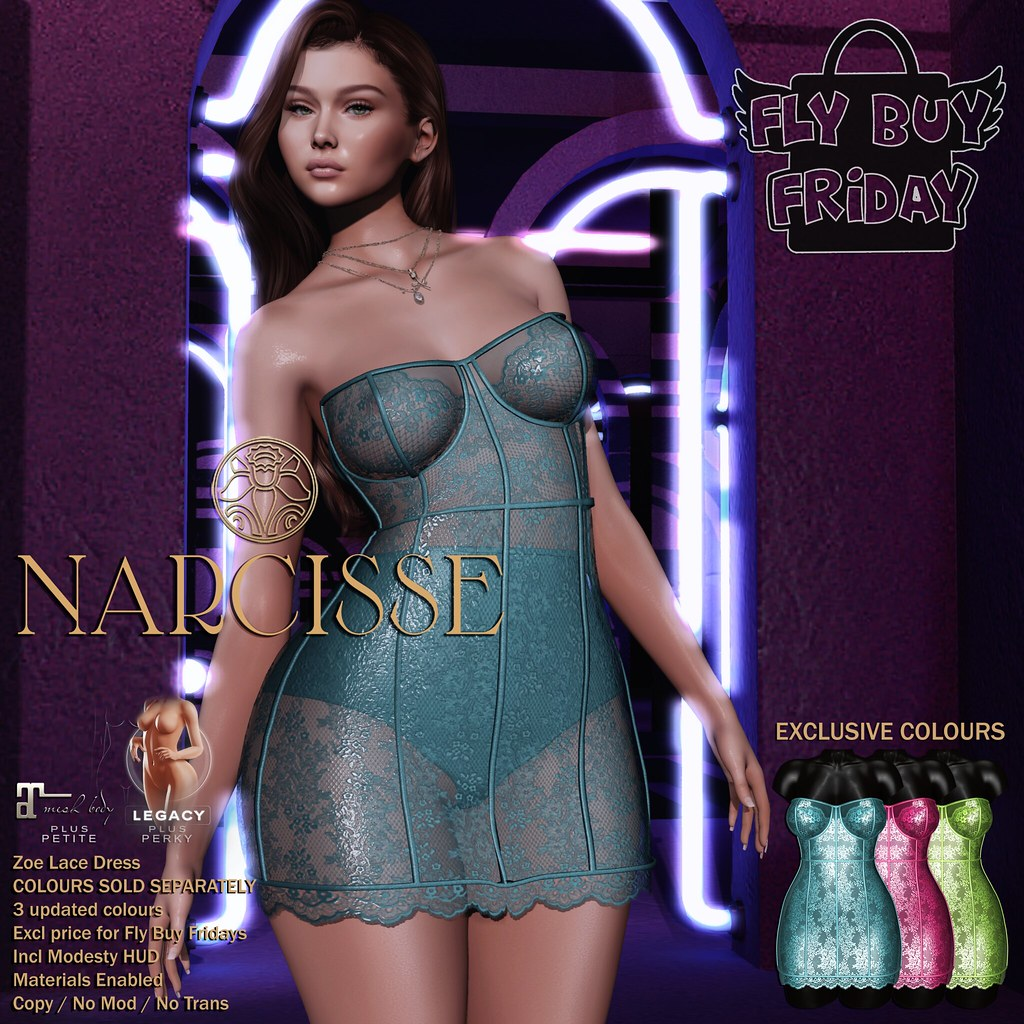-Narcisse- Fly Buy Fridays May 27th