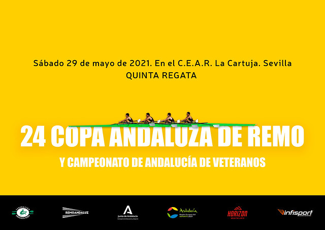 cartel 24 copa andaluza de remo quinta
