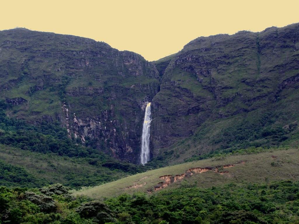 Waterfall Casca d'Anta - Serra da Canastra