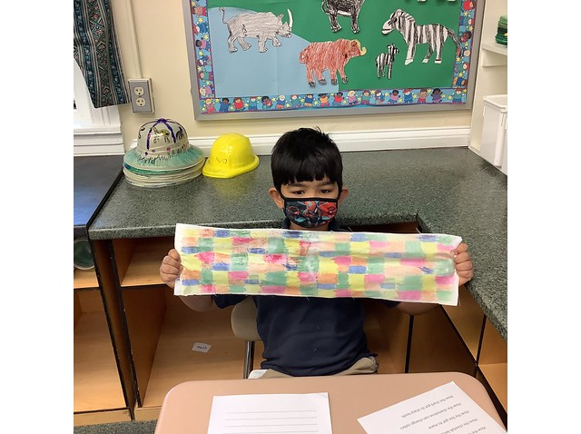 First Grade Learns About Africa