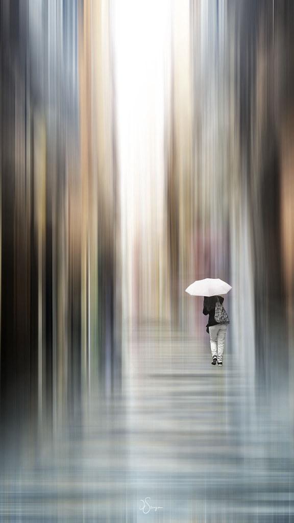 Walking in the rain ☔️