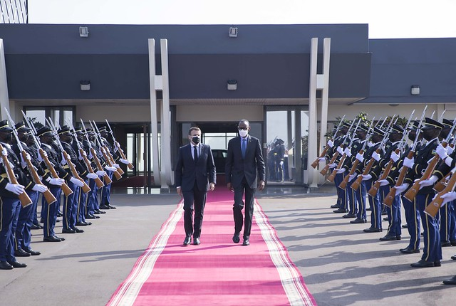 Official visit of President Emmanuel Macron of France  Kigali, 27-28 May 2021